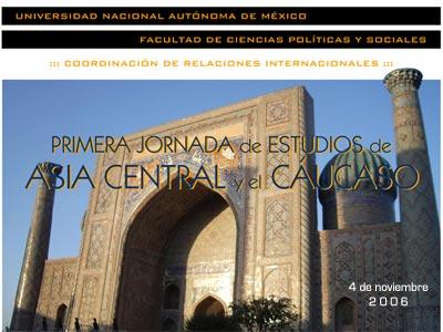 Primera Jornada de Estudios de Asia Central y el Cáucaso