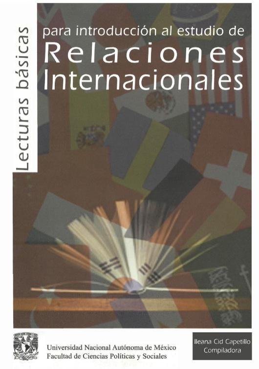 Lecturas básicas para introducción al estudio de Relaciones Internacionales